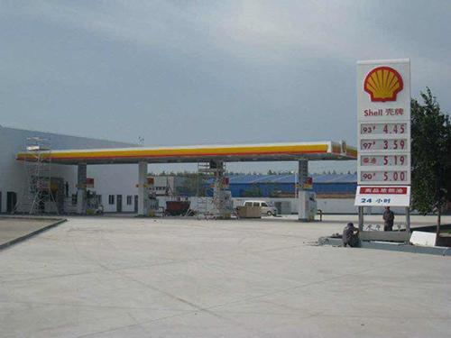 唐山壳牌加油站 (1)
